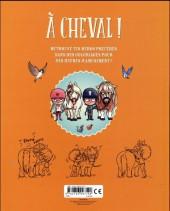 Verso de À Cheval ! -HS1- L'album de coloriage