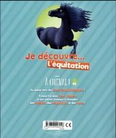 Verso de À Cheval ! -HS2- Je découvre... l'équitation
