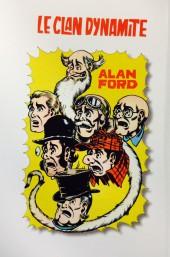 Verso de Alan Ford (Coffre à BD) -20- La tete du crocodile