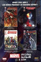 Verso de All-New Avengers -HS04- Esprits éclairés face à l'oscurité