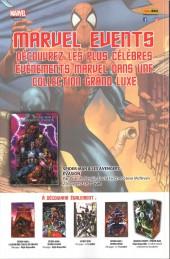 Verso de Marvel Saga (4e série - 2017) -1- Les plus combatifs héros de la terre