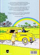 Verso de (AUT) Hergé -35a16- Tintin - hergé - les autos
