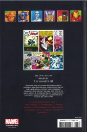Verso de Marvel Comics - La collection (Hachette) -8773- Les Origines de Marvel - Les Années 60