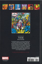 Verso de Marvel Comics - La collection (Hachette) -88XI- Le Puissant Thor - Ragnarok