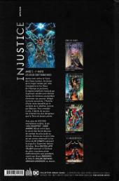 Verso de Injustice - Les Dieux sont parmi nous -9- Année 5 - 1re partie