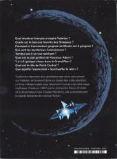 Verso de Valérian -HS4- Le guide des mille planètes