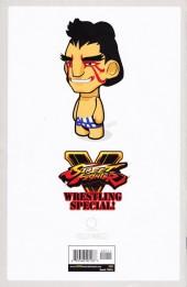Verso de Free Comic Book Day 2017 - Street Fighter V: Wrestling Special