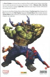 Verso de Marvel Zombies (Marvel Select) -3- Opération antidote