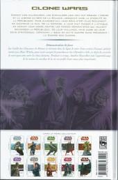 Verso de Star Wars - Clone Wars -6a08- Démonstration de Force