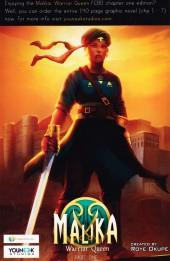 Verso de Free Comic Book Day 2017 - Malika Warrior Queen