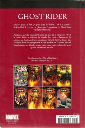 Verso de Marvel Comics : Le meilleur des Super-Héros - La collection (Hachette) -38- Ghost Rider