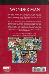 Verso de Marvel Comics : Le meilleur des Super-Héros - La collection (Hachette) -39- Wonder Man