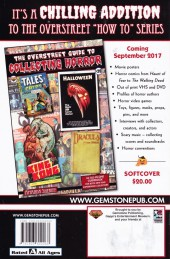 Verso de Overstreet Guide -FCBD- The Overstreet Guide to Collecting - Free Comic Book Day 2017