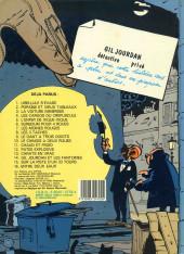 Verso de Gil Jourdan -4c1985- Les cargos du crépuscule