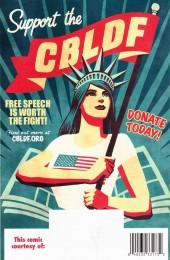 Verso de Free Comic Book Day 2017 - Defend Comics