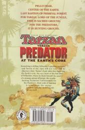 Verso de Tarzan (Edgar Rice Burroughs') - Tarzan Versus Predator - At the earth's core