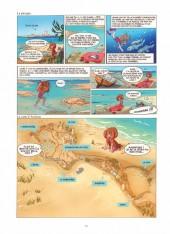 Verso de Alix et Arsenou (Les voyages d') -1- Les richesses du littoral