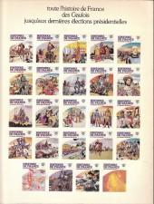 Verso de Histoire de France en bandes dessinées -16a- Une première république, bonaparte
