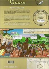 Verso de Quaco - Vivre en esclavage
