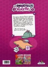 Verso de Les enquêtes de Violette -2- Tome 2