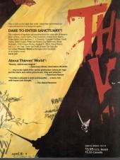 Verso de Thieves' World (1985) -5- Thieves'World
