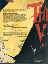 Verso de Thieves' World (1985) -6- Thieves'World