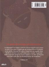 Verso de Museum - Killing in the rain -2- Volume 2