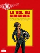 Verso de Gilles Durance -3TL- Le vol du Concorde