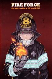 Verso de Fire Force -1Extrait- Tome 1