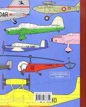 Verso de Tintin - Divers - Avions des aventures de Tintin (le guide du maquettiste des)