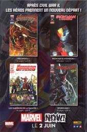 Verso de Spider-Man Hors Série (Panini Comics, 3e série) -1- Spider-Man Homecoming - Le Prologue du film