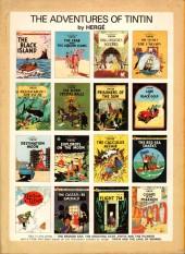 Verso de Tintin (The Adventures of) -15a77- Land of Black Gold