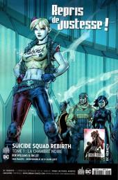 Verso de Suicide Squad Rebirth (DC Presse) -1- Numéro 1