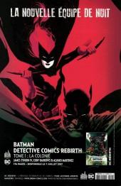 Verso de Batman Rebirth (DC Presse) -2- Tome 2