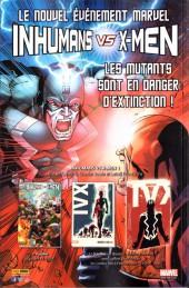 Verso de X-Men (Marvel France 5e série - 2017) -1- Pour Maya