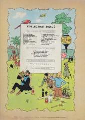 Verso de Tintin (Historique) -13B28- Les 7 boules de cristal