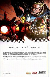 Verso de Secret Wars : Civil War (Marvel Now!) - Secret Wars : Civil War