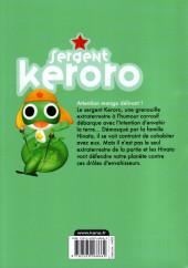 Verso de Sergent Keroro -27- Tome 27
