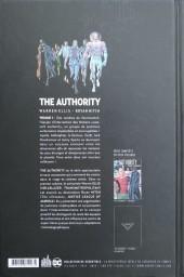 Verso de The authority -1- Volume 1
