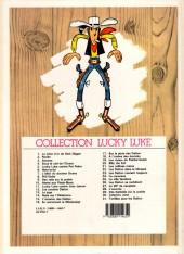 Verso de Lucky Luke -25b86- La ville fantôme