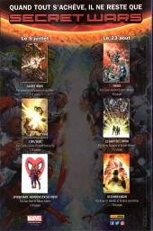Verso de Spider-Man (Marvel France 6e série - 2017) -2- La Conspiration des clones (2/5)