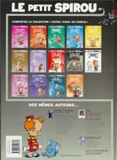 Verso de Le petit Spirou -9a2009- C'est pas de ton âge !