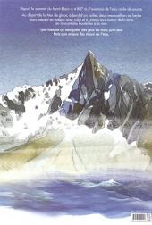 Verso de Chamonix Mont-Blanc -6- Le voyage de la mer de glace