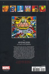 Verso de Marvel Comics - La collection (Hachette) -89XXXVII- Les Avengers - La Saga de Korvac