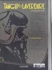 Verso de Tanguy et Laverdure - La Collection (Hachette) -20- Opération Tonnerre