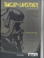 Verso de Tanguy et Laverdure - La Collection (Hachette) -21- Plan de vol pour l'enfer