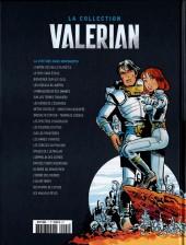 Verso de Valérian - La collection (Hachette) -1- La Cité des eaux mouvantes