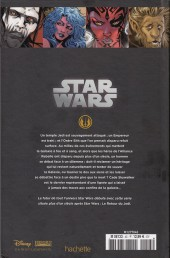 Verso de Star Wars - Légendes - La Collection (Hachette) -4585- Star Wars Legacy - I. Anéanti