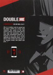 Verso de Double.Me -1- Tome 1