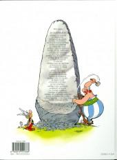 Verso de Astérix (Hachette) -1d2014- Astérix le Gaulois